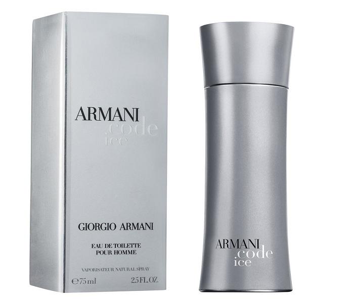 100% high quality uk availability aliexpress ARMANI CODE ICE (M) 75ML -
